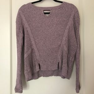 Mauve Sweater   Knitz by For Love and Lemons